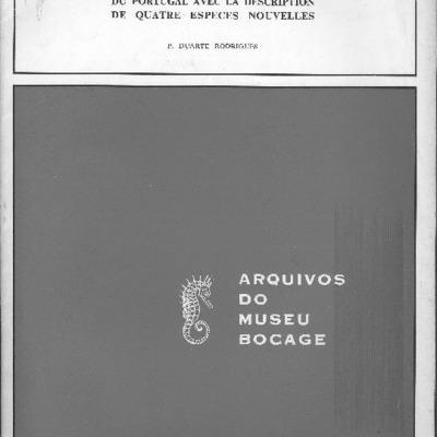 Notes homoptérologiques. I. Remarques sur quelques Cicadellidae du Portugal avec la description de quatre espèces nouvelles